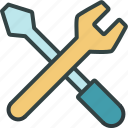 building, costruction, repair, settings, tools icon