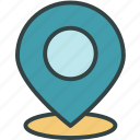 geo, gps, location, map, pin icon