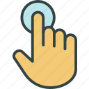 clic, cursor, hand, pointer icon