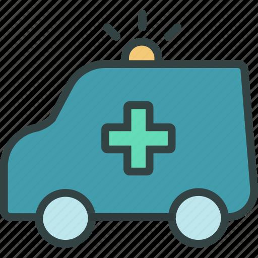 ambulance, emergency, health, hospital, medical icon