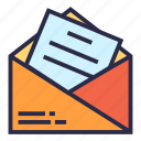email, envelope, letter, mail, messages icon