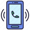 call, cell phone, phone, phone call, telephone icon