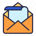 email, envelope, letter, mail, messages