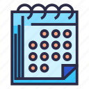 calendar, deadline, event, schedule, time management icon