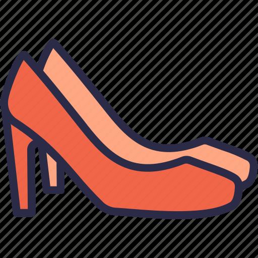fashion, footwear, high heels, shoes, women shoes icon
