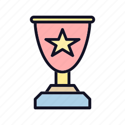 achievement, awards, best, like, medal, star, winner icon