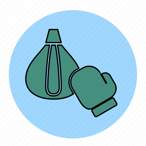 bodybuilding, boxing, cliches, fitness, health, line, punch icon