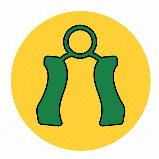 bodybuilding, fitness, hand, health, line, tool, workout icon