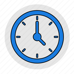 bodybuilding, clock, fitness, health, line, time, watch icon
