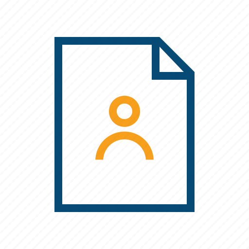 access, author, doc, document, holder, owner icon