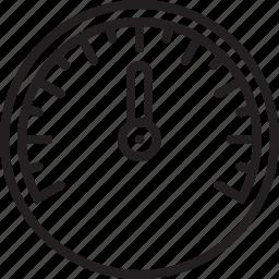 dashboard, gauge, level, speed, speedometer icon