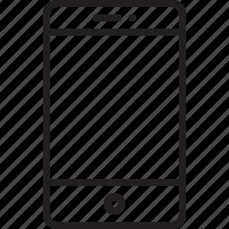 apple, iphone 5, iphone 6, iphone 7, iphone retina, mobile, phone, smartphone, telephone icon