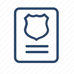 blank, document, form, government, paper, print, product icon