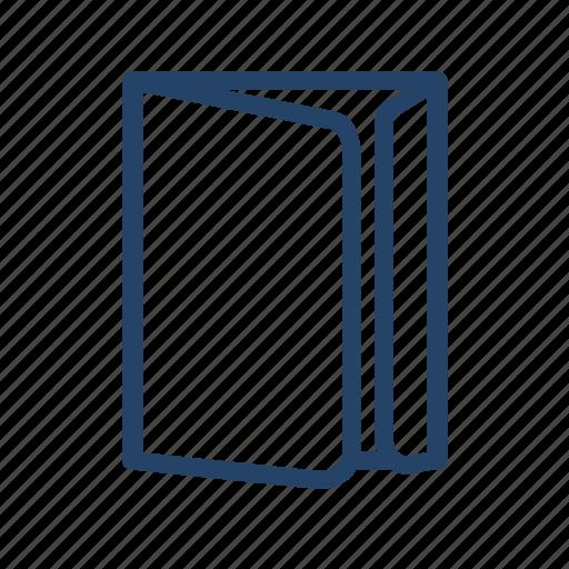 folder, paper, print, product icon