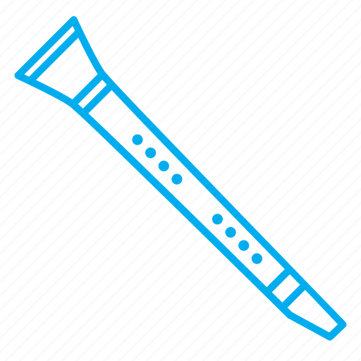 clarinet, instruments, musical instruments, rhythms, singing, songs, tone icon