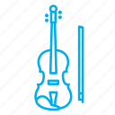 instruments, musical instruments, rhythms, singing, songs, tone, violin icon