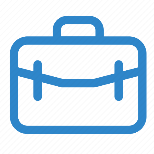 bag, brief, business, case, line, office, work icon