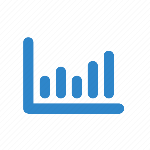 business, ecommerce, graph, line, office icon