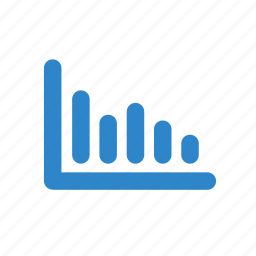 bar, business, ecommerce, graph, line, office icon