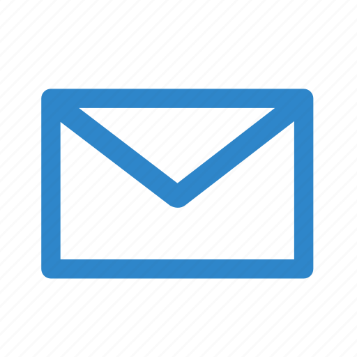 business, email, envelope, letter, line, mail, office icon
