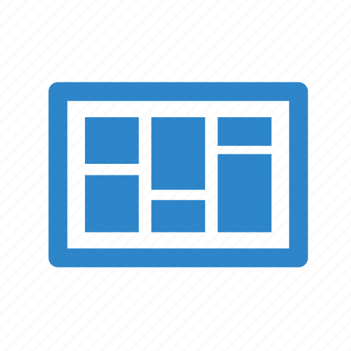 alignment, business, gallery, image, line, office, picture icon