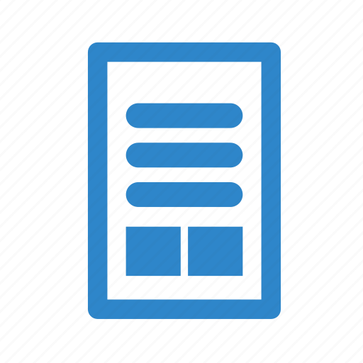 business, image, line, office, page, text icon