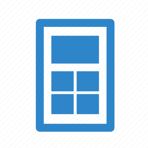 business, gallery, image, line, office, page, tilled icon