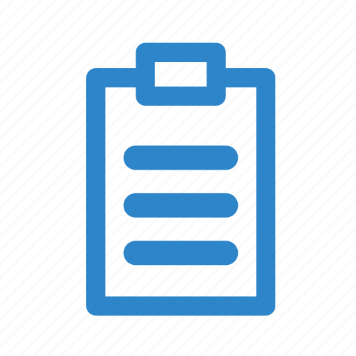 business, letter, line, note, office, page icon