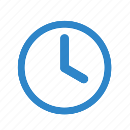 business, clock, line, office, over, time, watch icon