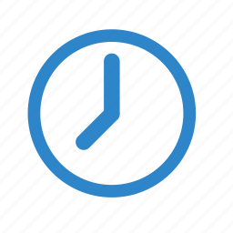 business, clock, line, office, start, time, watch icon