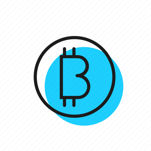 b, bitcoin, crypto icon