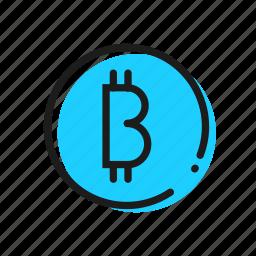 bitcoins, crypto, exchange, money icon