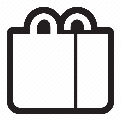 bag, handles, merchandise, merchant, purchase, shopping, tote icon