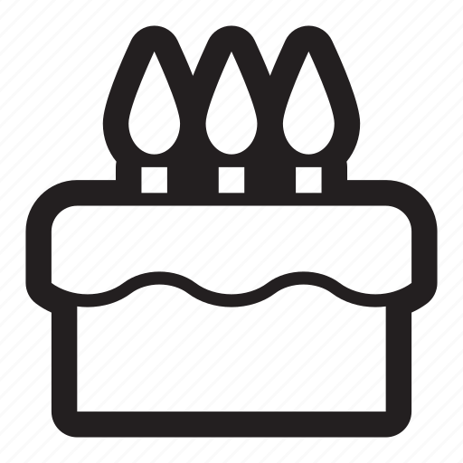 age, bakery, baking, birthday, cake, celebrate, dessert, gift, old, party, present icon