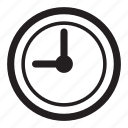 clock, hours, timer, time icon