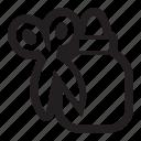 build, clipboard, craft, cut, edit, glue, kids, paste, scissors icon
