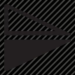 contrast, flip, horizontal icon