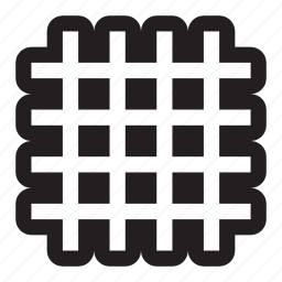 arrow, big, connect, crosshatch, grid, logo, square, squared, squares, tiles icon