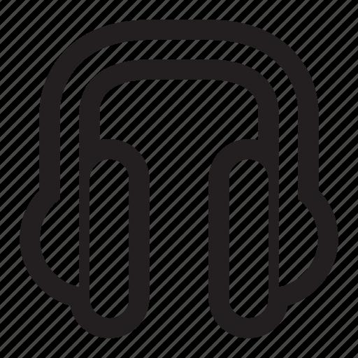 audio, headphones, listen, music, podcast icon