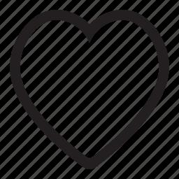 favorite, friend, heart, love, valentine icon