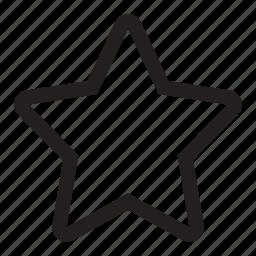 bookmark, favorite, important, star icon