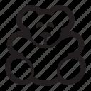 teddy, bear, cute, kids, children, animal, toys