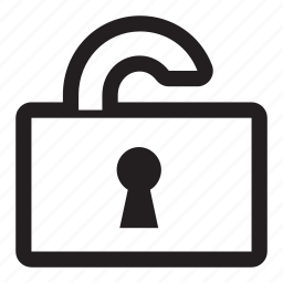 change, charge, editable, folder, insecure, key, lock, locked, open, padlock, password, private, secure, security, unlock icon