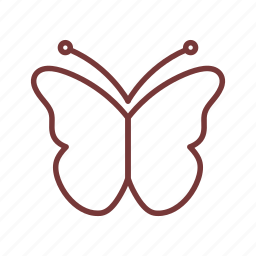bug, butterfly, insect, moth, nature icon