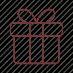 award, box, decoration, gift, present, ribbon, surpize icon