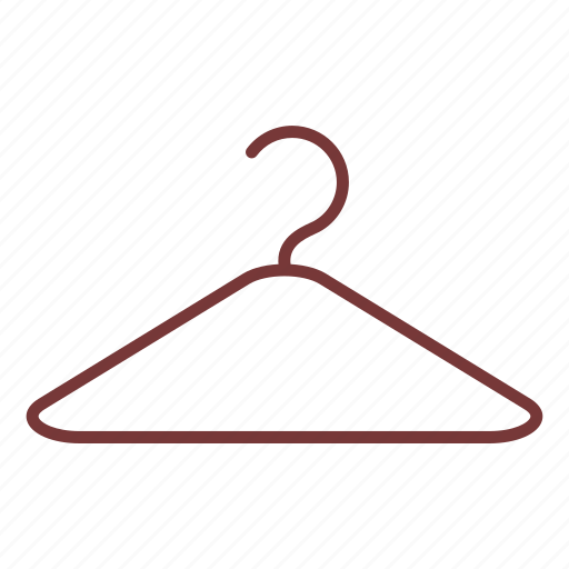clothe, clothes, hanger, shopping icon