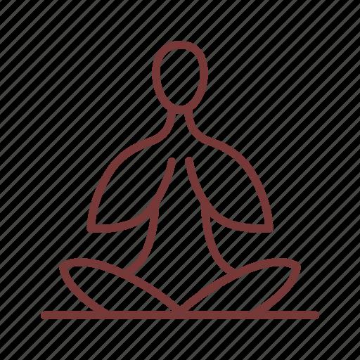 female, lotus, woman, yoga icon