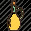 bottle, oil, olive icon