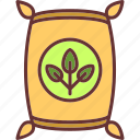 fertilizer, gardening, organic, seeds icon