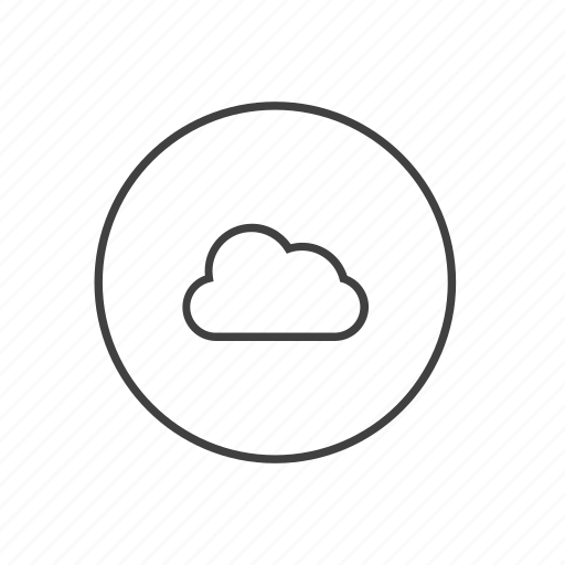 cloud, clouds, cloudy, data, storage, upload, weather icon